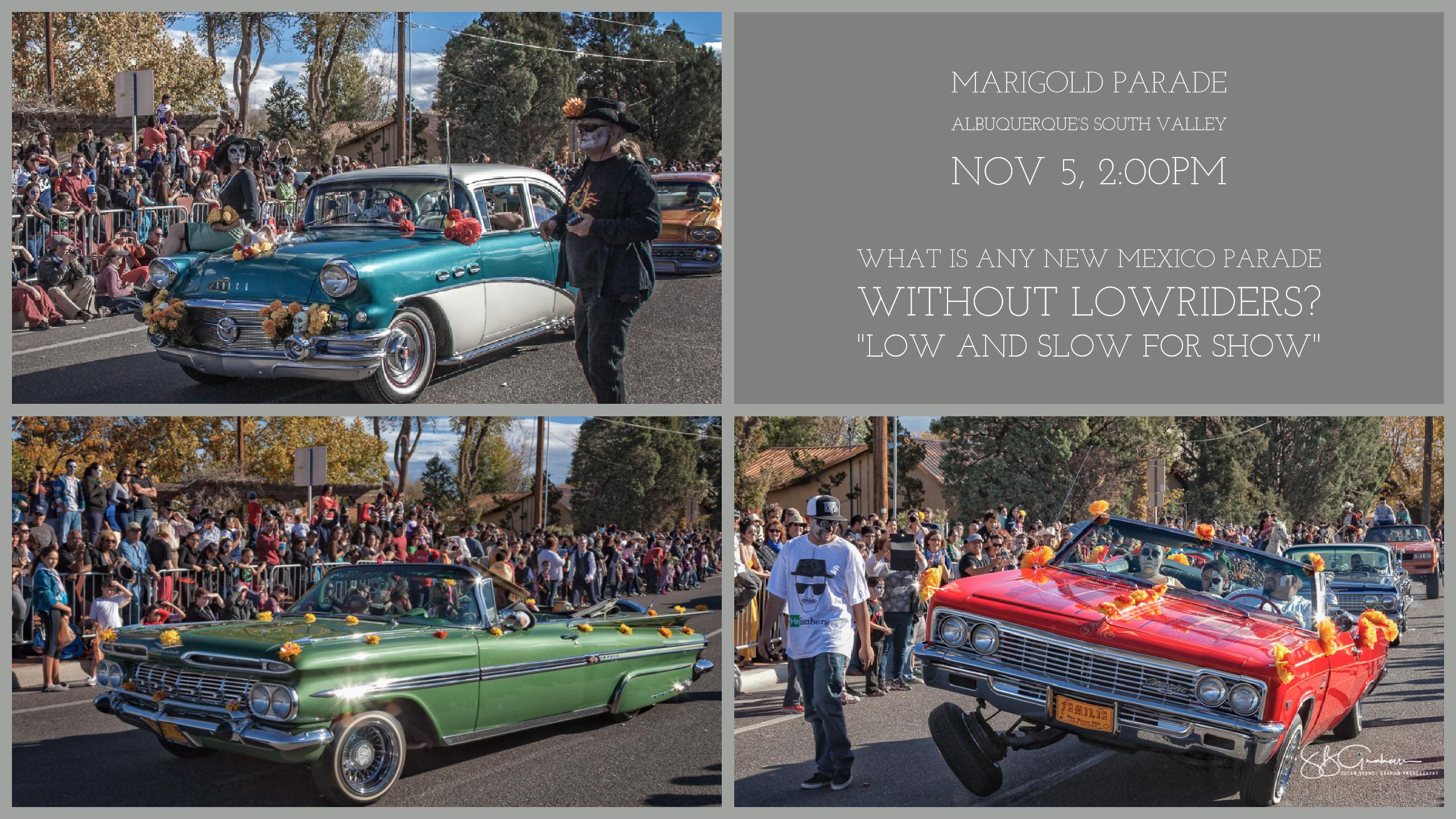 Sunday Musings marigold parade