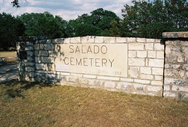 Salado Cemetery Texas